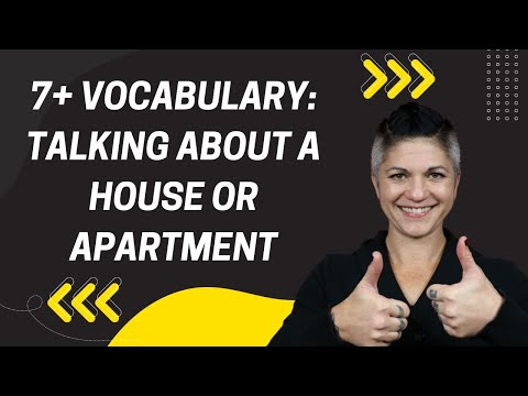 7+ Vocabulary for Talking about a House or Apartment
