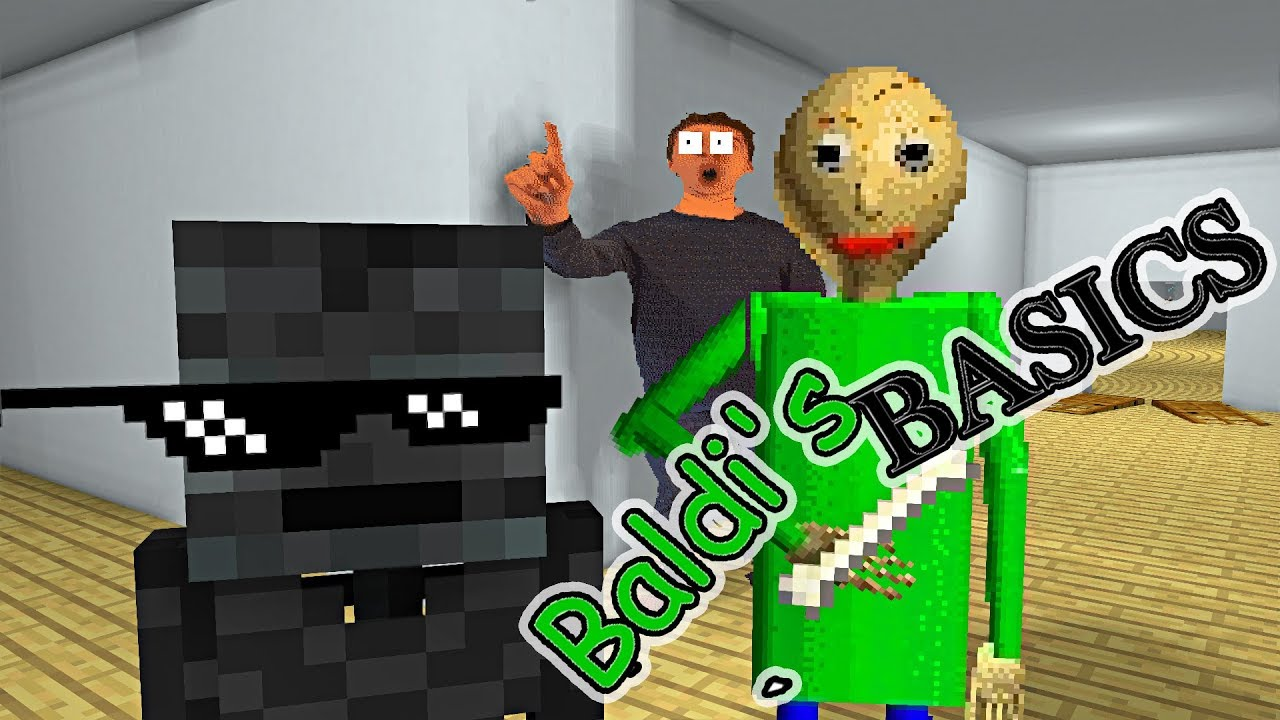 Monster School : BALDI'S BASICS CHALLENGE - Minecraft Animation