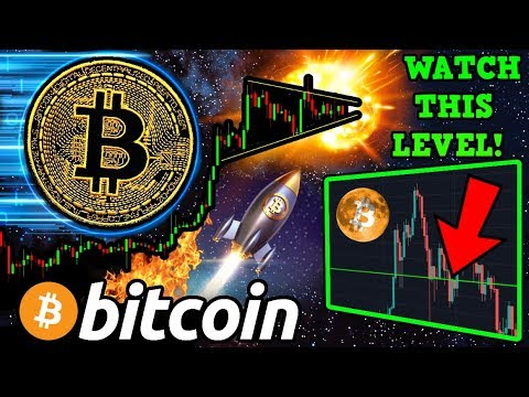 BITCOIN Winding Up for Next BIG MOVE!? The MOST IMPORTANT $BTC Level to WATCH! 🚀