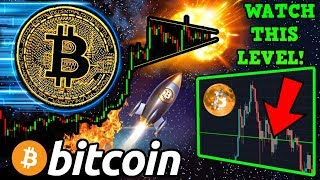 BITCOIN Winding Up for Next BIG MOVE!? The MOST IMPORTANT $BTC Level to WATCH!