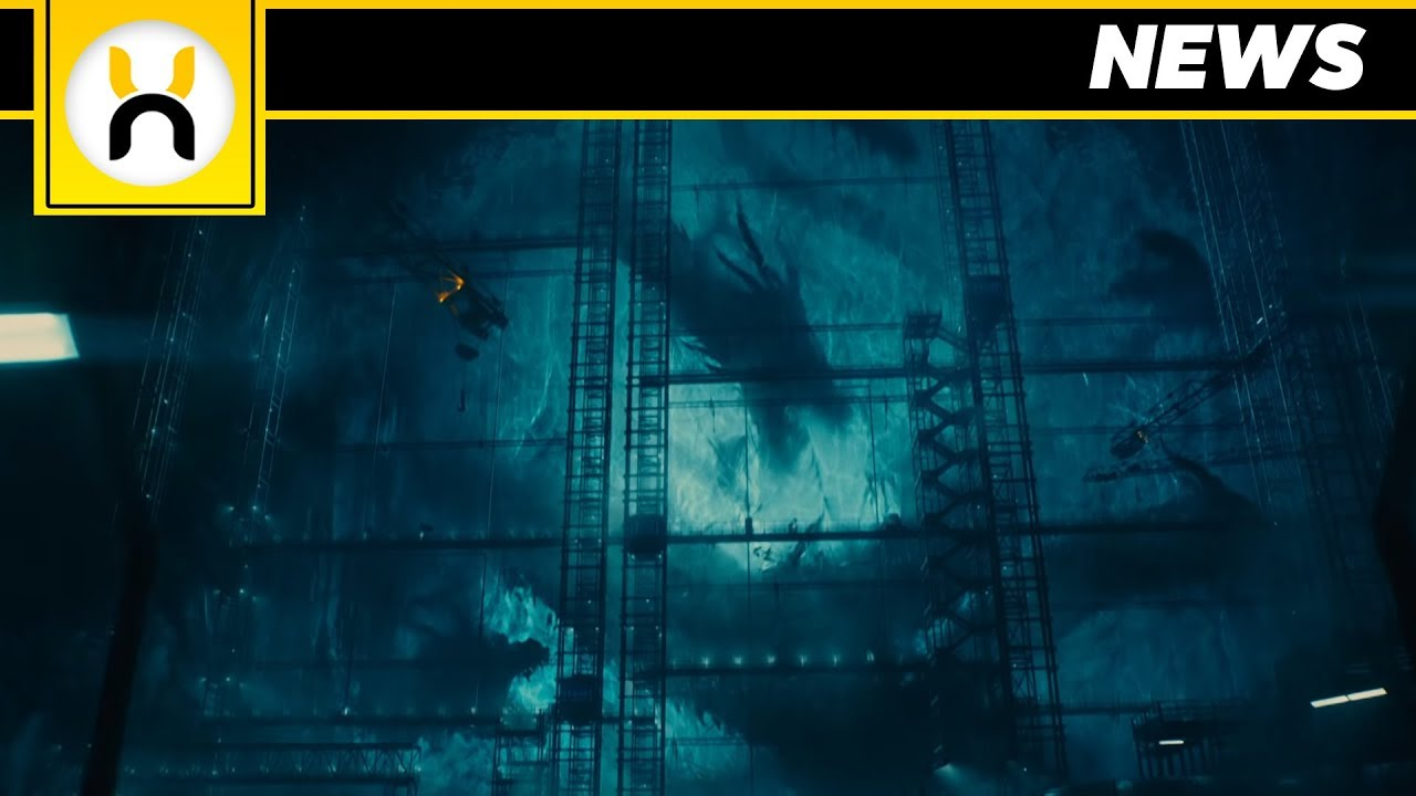 First Look King Ghidorah From Godzilla King Of The Monsters Sdcc 2018