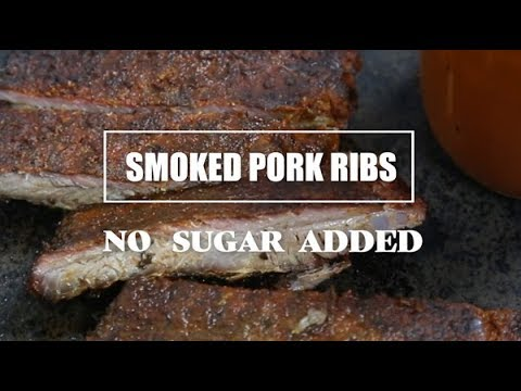 Sugar Free Smoked Pork Ribs Recipe (Keto and Paleo friendly)