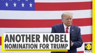 ... united states president donald trump has been nominated for nobel peace p...