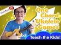 One Chord Ukulele Games Music Teaching Tips kindyRock great songs for kids