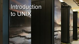 Introduction to Basic Unix System Administration (1.What is Unix?)