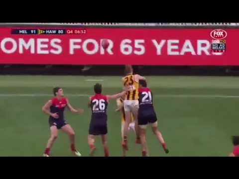 Melbourne vs Hawthorn: Fourth Quarter - Round 20, 2016