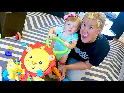 LEARNING TO WALK! - MUSICAL LION WALKER