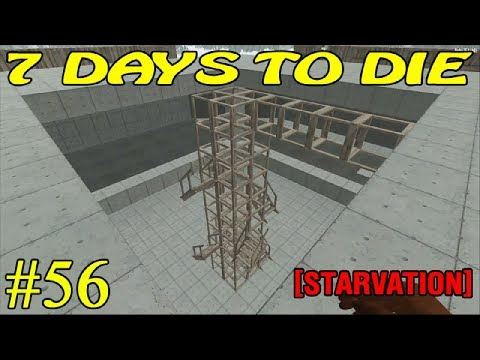 7 Days to Die [ STARVATION ] ► Железо бетон ► №56