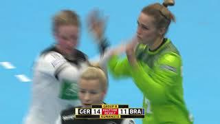 Germany 30:24 Brazil (Group B)   Japan 2019 IHF Women's Handball World Championship