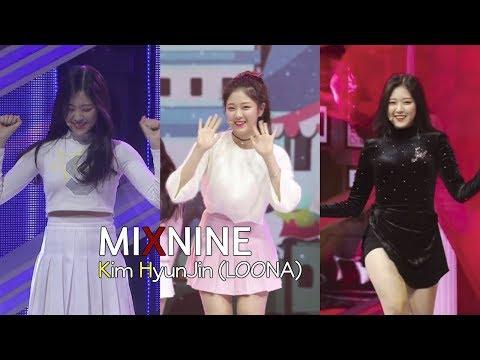 Kim HyunJin (LOONA) | MIXNINE focus