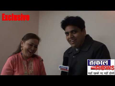 Prakash Chandra With Singer Poornima Shreshtha