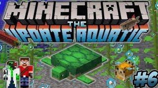 Minecraft Update Aquatic Turtle Farm Underwater Base - Ren & Doc Build Stuff #6