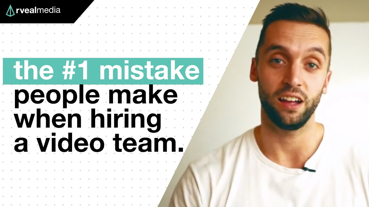 The BIGGEST MISTAKE companies make when hiring video teams.