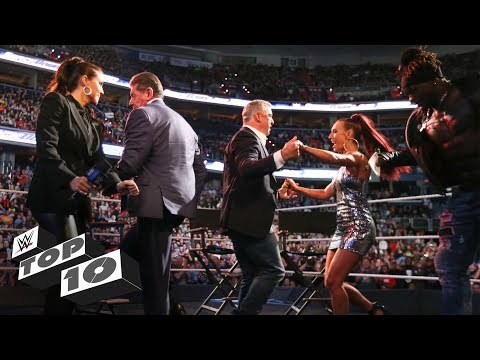 McMahon dance-offs: WWE Top 10, Oct. 22, 2018