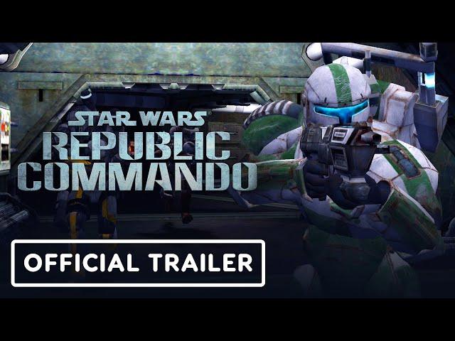 Star Wars: Republic Commando - Official Announcement Trailer (PS4 & Nintendo Switch)