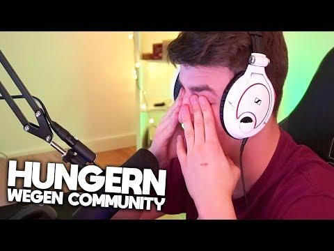 Verhungert wegen Community!? 🍕 Reaktion auf krankes Skimovie! | Papaplatte Prestream