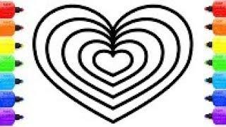 Coloriage Coeur Brillant.Coloriage A Imprimer Licorne Emoji Images Amateur