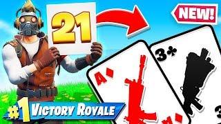 ROLL 21, um GUTE Waffen zu erhalten (Fortnite Brettspiel)