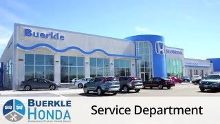 About the Buerkle Honda Service Center - White Bear Lake, MN - Honda Service St Paul(Visit http://www.buerklehonda.com/service-center/about.htm to schedule your service appointment, or call (651) 490-6699! Welcome to the Buerkle Honda ..., 2016-05-19T13:19:16.000Z)