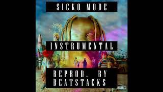 SICKO MODE - Original Instrumental (all 3 parts) STUDIO QUALITY Video