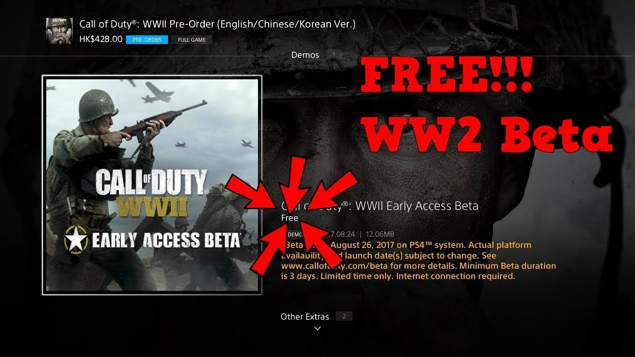 how can i get cod ww2 for free