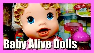 Baby Alive Dolls - Baby Wanna Walk - Just Like A Real Baby Baby Alive Talks and Walks - Girls Dolls