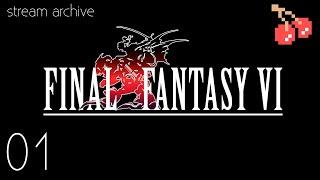 Game Virgins Stream Final Fantasy VI - 01