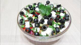 Салат Шопский / Вкусный салат без майонеза