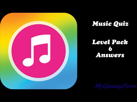 Music Quiz - Level Pack 6 Answers