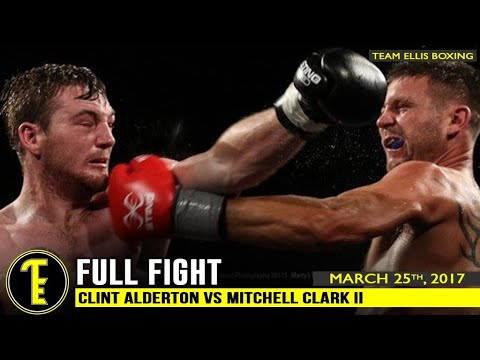 Clint Alderton vs Mitchell Clark II - Once Upon A Time At The Melbourne Pavilion