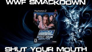 WWE Smackdown Shut Your Mouth   Undertaker vs Brock Lesnar vs RVD vs Hulk Hogan   TerriblePain