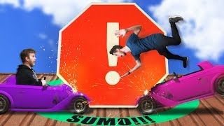 Obstacle Sumo Battle Challenge! | GTA5