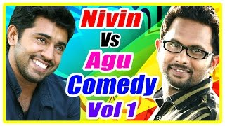 Nivin Pauly Vs Aju Varghese Comedy scenes | Vol 1 | Kunchako Boban | Vineeth Sreenivasan | Nazriya