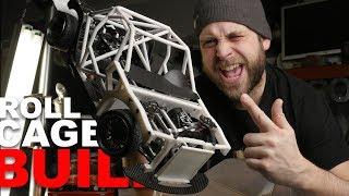 E30 WAGON RCDRIFT - Custom Cage Install - D9 bulldog