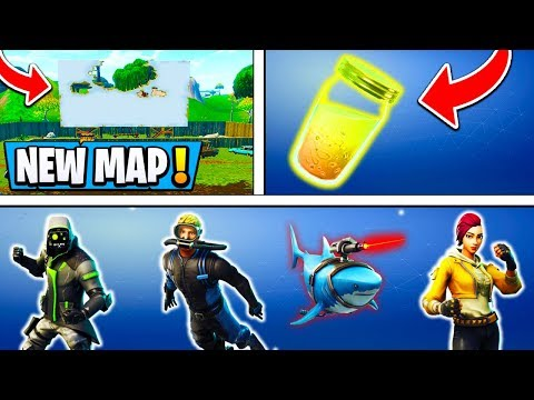 *ALL* Fortnite Confirmed Updates!   Map CHANGES, New Skins, Gifting! ( 5.1 Leaks )