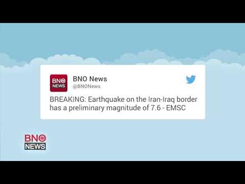Powerful Earthquake Strikes the Iraq-Iran Border