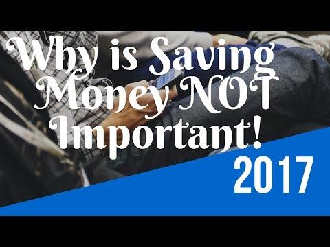 Why is Saving Money NOT Important! By Robert Kiyosaki
