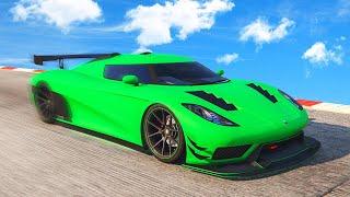 NEW CAR + TOP SPEED RECORD! (GTA 5 DLC)