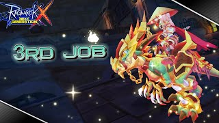 Ragnarok X Next Generation : 3rd Job Sneak Peek