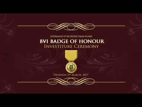 BVI Badge Of Honour Ceremony 2017