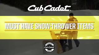 Winter Snow Thrower Expert Tips and Must Have Items