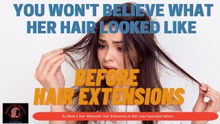 Look What Happend When Hair was Rebonded and Steamed by Need  Hair Makeover Salon