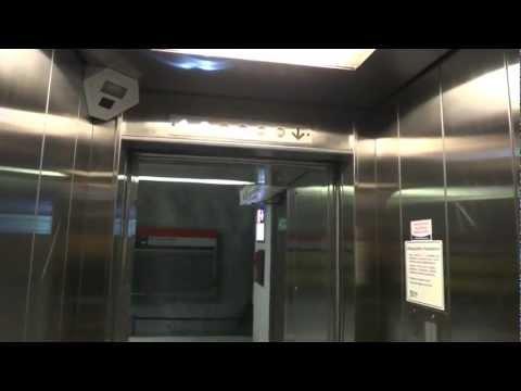 old KONE traction elevator @ Kamppi Metro Station, Helsinki, Finland.
