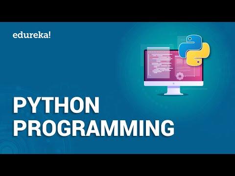 Python Programming | Learn Python | Python Tutorial | Python Training | Edureka