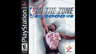 NBA in the Zone 2000 (PlayStation)
