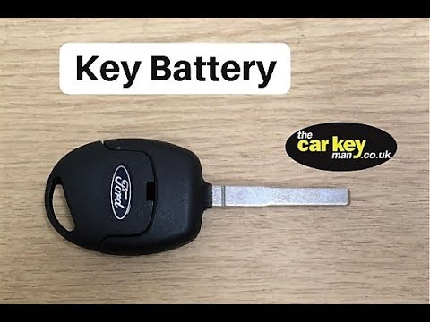 2011 ford fiesta key replacement