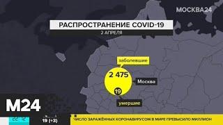 В России выявили 771 случай заражения коронавирусом - Москва 24