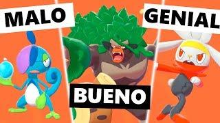 Los MEJORES y PEORES diseños en Pokémon Espada y Escudo Parte 1   EBaru