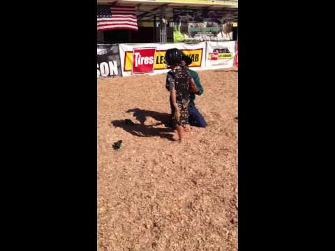 Gavin Slayden - mutton bustin 2013