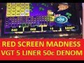 VGT SLOT MADNESS !!! LIVE PLAY !!! RED SCREENS !!! BIG WINS !! MR MONEY BAGS 2 !!! RUBY RED 2 !!!!